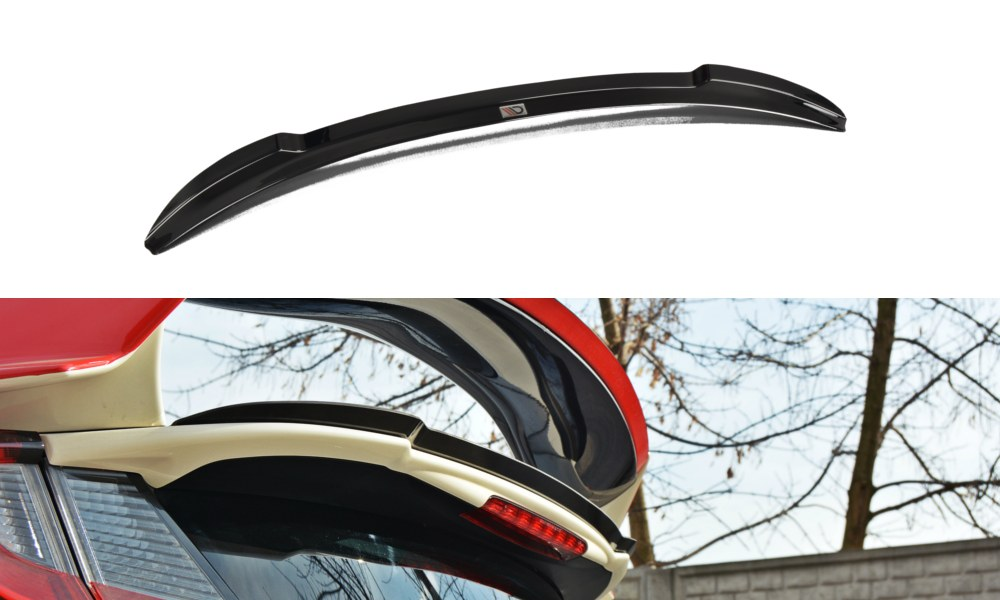 Lotka Lip Spoiler - N.2 Honda Civic IX Type R - GRUBYGARAGE - Sklep Tuningowy